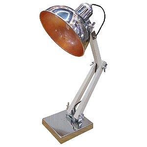 Luminária Articulada Prata UA-70