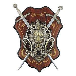 Decorativo de Parede Brasão Leão CA-50