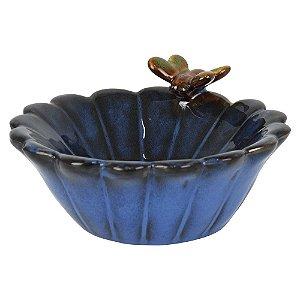 Saboneteira Borboleta em Cerâmica FG-84