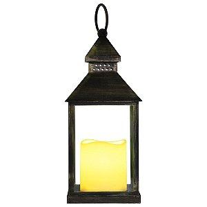 Lanterna Pequena com Vela LED YC-46