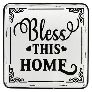 Placa Bless This Home YC-92