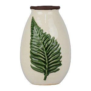Vaso Branco Folha YD-78
