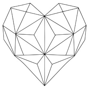 Aramado Coração YD-93