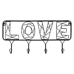Cabideiro Aramado Love YE-27