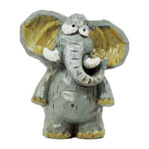 Elefante Decorativo em Resina CA-33