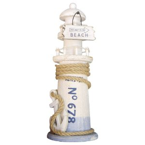 Farol Branco e Azul Beach Médio CY-04