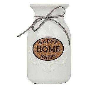 Vaso Happy Home Branco YF-48 A