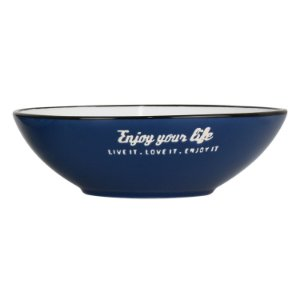 Bowl Enjoy Your Life Azul YG-39 A