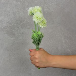 Flor Artificial Mini Dália Branca YH-40 A