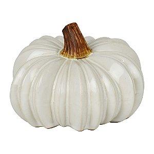 Enfeite Pumpkin Branco YK-12 B