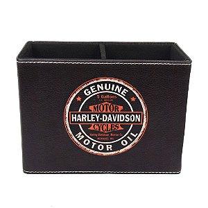 Porta Canetas Harley em Courino YI-95