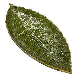 Bandeja Leaf Grande em Cerâmica YJ-23