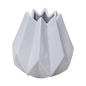 Vaso Willi Branco em Cerâmica YK-26 A