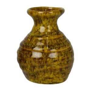Vaso Makari Amarelo em Cerâmica YK-29 C