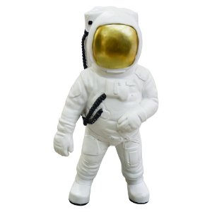 Enfeite Astronauta Galaxy em Resina YL-32
