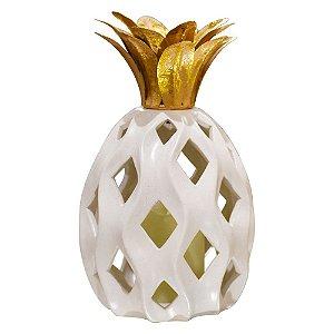Abacaxi Decorativo Grande em Cerâmica YL-44