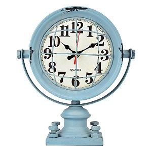 Relógio Azul Grade em Metal YL-61