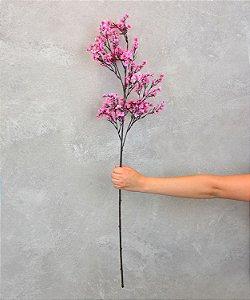 Flor Artificial de Cerejeira Rosa YH-41 A