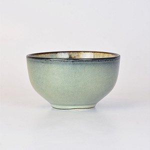 Bowl Retrô Azul em Cerâmica YM-54 A