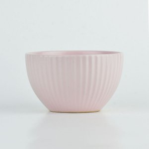 Bowl Lines Rosa em Cerâmica YN-53 A