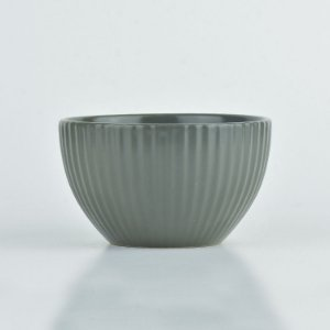 Bowl Lines Cinza em Cerâmica YN-53 B