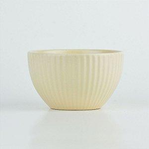 Bowl Lines Bege em Cerâmica YN-53 C