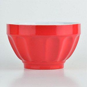 Tigela Color Vermelha em Cerâmica YN-54 A