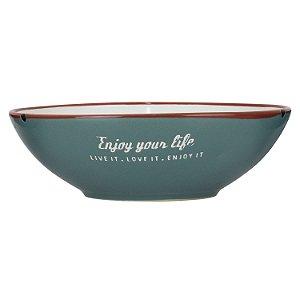Bowl Enjoy Your Life Verde YG-39 B