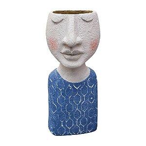 Vaso Busto Azul YL-36