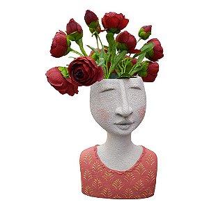 Vaso Busto Rosa YL-37