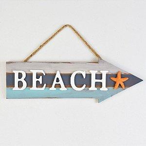 Placa Decorativa Seta Beach Estrela YP-24