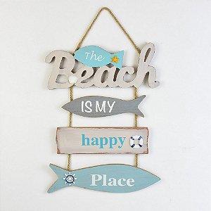 "Placa Peixes ""Beach"" YP-35"