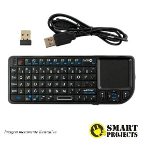 Ultra Mini Teclado Wireless Touchpad RT-UMK-ULTRA