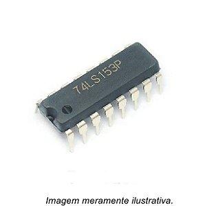 Circuito Integrado 74LS153 Multiplexador de Dados Duplos de 4 para 1 linha