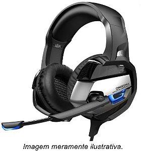 Fone de Ouvido Headset Gamer K5 preto Onikuma