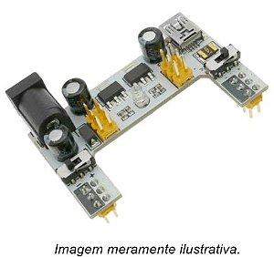 Fonte Ajustável para Protoboard MB-102