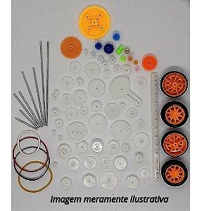 Kit DIY Engrenagens Diversas Polias e Correias A1075