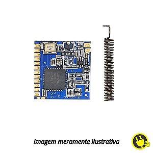 Modulo Transceptor Lora 433mhz Sx1278 Com Antena