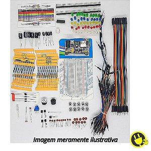 Kit Componentes e Acessórios E24 para Arduino - Raspberry