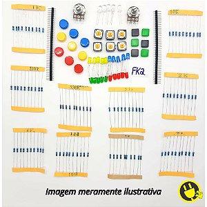 Kit Componentes e Acessórios FK2 para Arduino - Raspberry