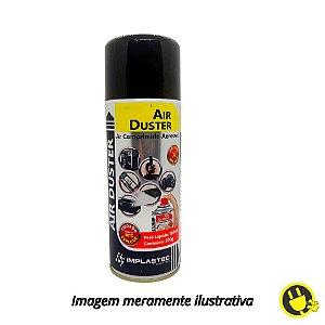 Ar Comprimido Aerossol Air Duster 200g / 164ml Implastec