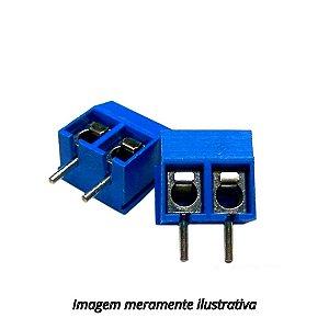 Conector Borne KRE 2 Vias Azul