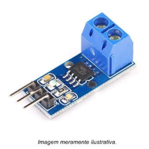 Sensor de Corrente Invasivo ACS712 30A