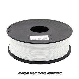 FIlamento PLA 1,75mm 1kg branco para impressora 3D