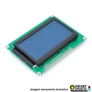 Display LCD grafico 128x64 backlight azul