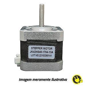 Motor de Passo NEMA 17 17HS4401 4.2 KGF 1.7A Impressora 3D CNC