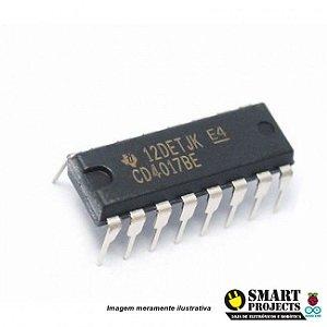 Circuito integrado CD4017 contador década