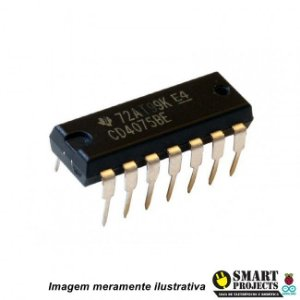 Circuito integrado CD4075 porta lógica OR
