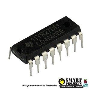 Circuito Integrado CD4040 Controlador Binário