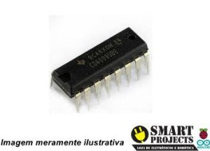 Circuito integrado CD4009 CMOS Buffers/Converter